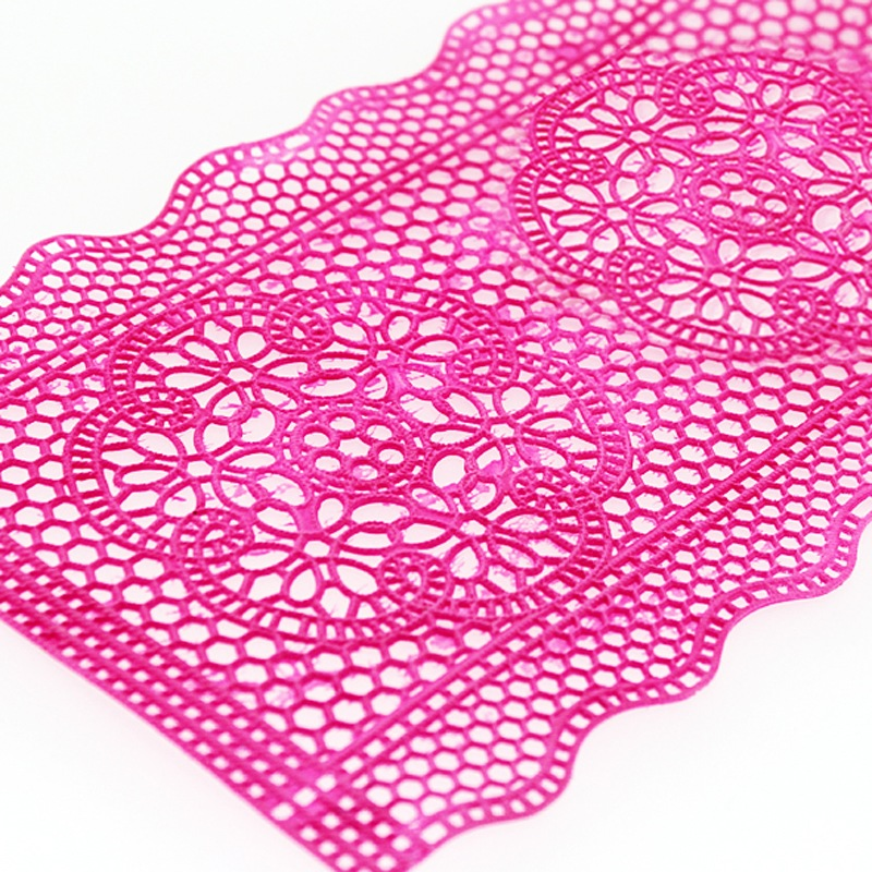 Nicole silicone mat embossed fondant fondant lace lace mold mold tool mold dry pace