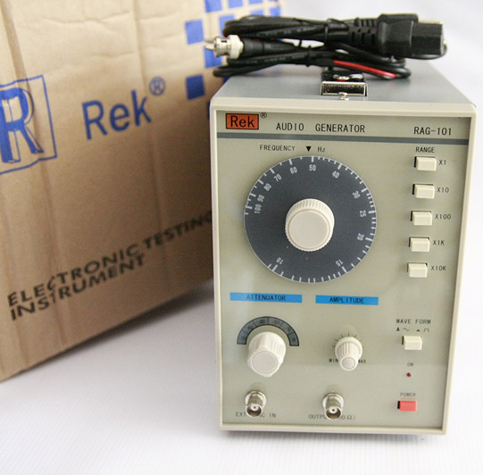 Us rick hz-1 RAG-101 type low frequency signal generator 10 mhz signal