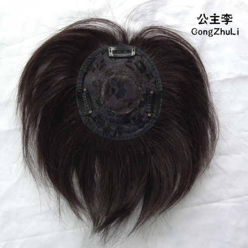 Top real hair head real hair wig full hand woven tablets old hair weave hair pieces bangs straight hair