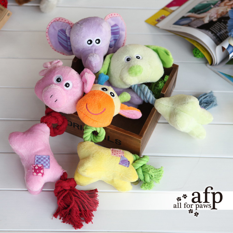 Afp dog toys miansheng baby opts 4 molar tooth cleaning pet dog supplies cute plush sound