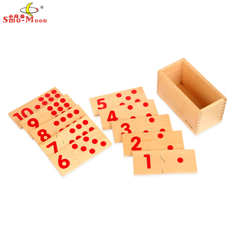 Small moon mathematics teaching aids mongolia and taiwan soe lee kindergarten early childhood toy digital jigsaw puzzle