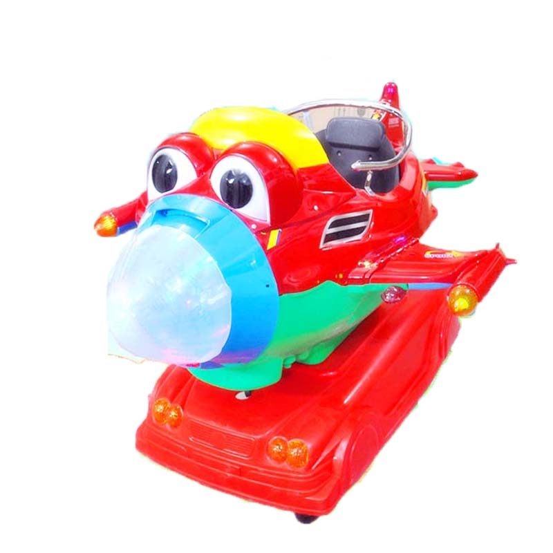 Photosynthetic bigeye aircraft children's swing machine coin swing machine aircraft swing children swing car coin machine