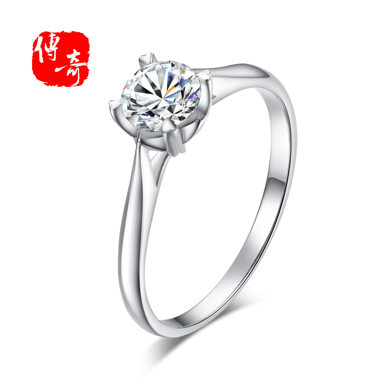 Legend 925 silver ring ring female jewelry silver jewelry diamond ring wedding ring nvjie korean couple