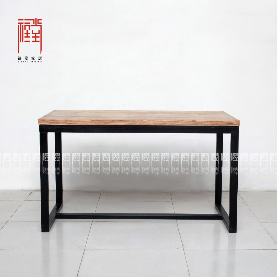 Get Quotations · Jubilee Hall Minimalist Elm Furniture Modern Chinese  Furniture Office Desk Office Furniture Dining Table Desk Painting