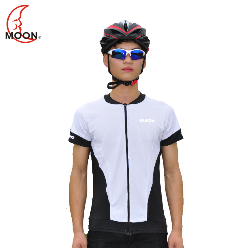 Moon bicycle clothing spring and summer short sleeve jersey short sleeve unisex outdoor riding equipment