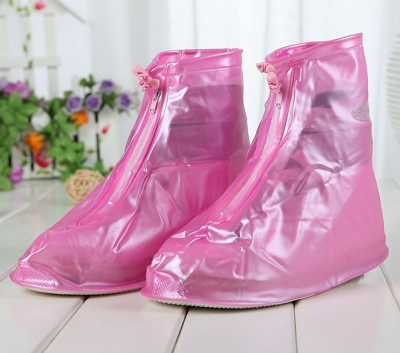 Lee rain rain shoes thick bottom female fashion rain boots rain shoes waterproof shoes for children slip shoe covers rain rain shoe covers men and women