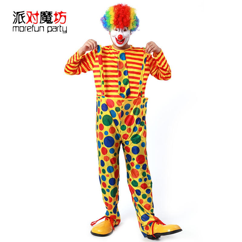 Party magic square halloween masquerade party celebration performances cosplay costume adult male clothing small ch'ou