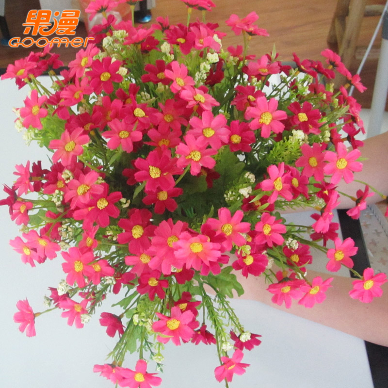 China south african flowers china south african flowers shopping get quotations fruit man euclidian contadino african daisy artificial flowers artificial flowers silk flower bunch mightylinksfo