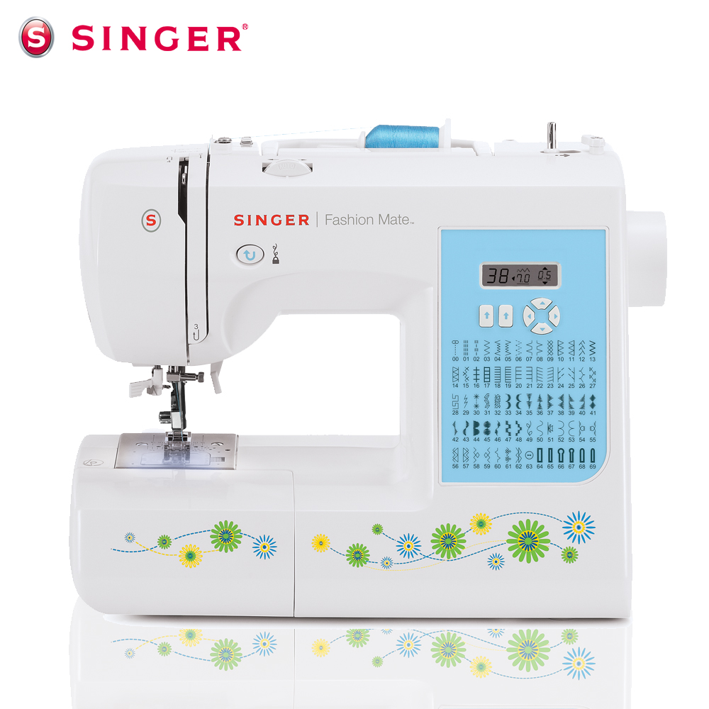 [Singer sewing machine flagship store] household sewing machine electronic sewing machine type 7256 to send a docking station