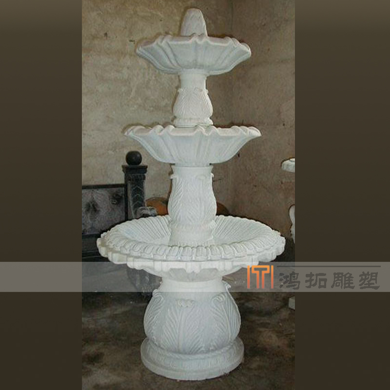 [Sculpture]鸿拓euclidian household small fountain marble fountain fountain fountain fountain af005