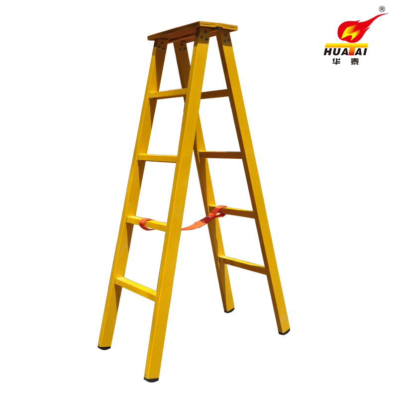 Huatai fiberglass insulation fiberglass insulation ladder word ladder folding ladder ladder 2.5/3/3.5/4 m Made