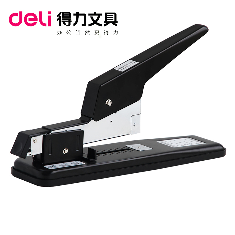 Deli 0390 heavy duty stapler 80 pages thick layer of thick heavy stapler stapler stapler stapler binding machine stapler