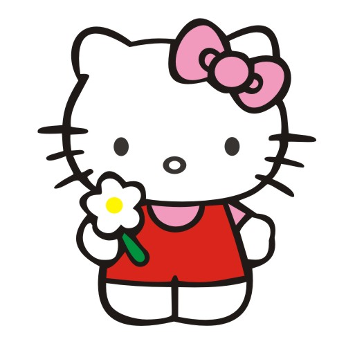Hello kitty cartoon cute cartoon car stickers personalized stickers reflective car stickers cover scratches stickers car stickers