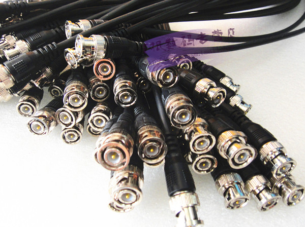 Finished machine pressure bnc cable with bnc connector bnc jumper cable with bnc connector cable q9 bnc connector 5 m