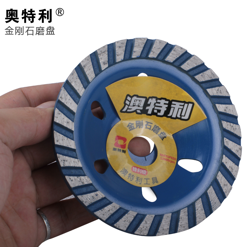 Authentic australia donatelli 〓 〓 honing-tool wide tooth grinding stone diamond disc 100mm disc bowl