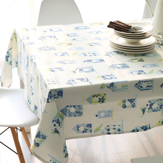 [Kat] poliphili korean cartoon cloth tablecloths coffee table square table cloth cover coffee table table cloth custom