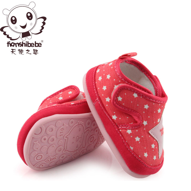 Angel infant female baby shoes princess shoes spring models baby shoes infant shoes soft bottom shoes women shoes fall prevention