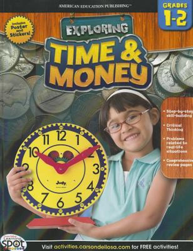 [Booking] time & money, Grades 1-2 [with poster]