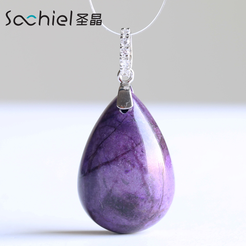 St. crystal natural crystal pendant lai shu ju hung pendant japan and south korea fashion jewelry pendant necklace korean fashion