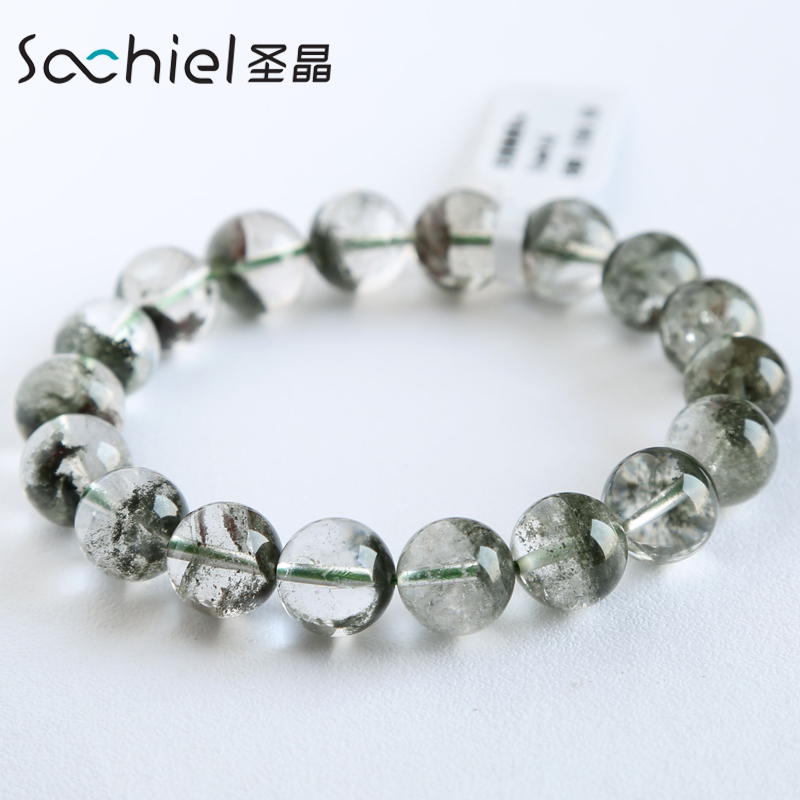 Ms. st. crystal phantom of natural crystal bracelet lap bracelets beads prayer beads bracelet japan and south korea jewelry