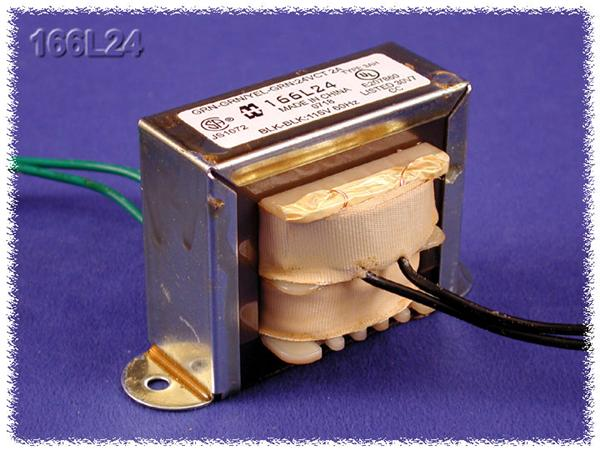 166K12 [power transformers 12.05ct 6ct vac/1.2 mal-2]