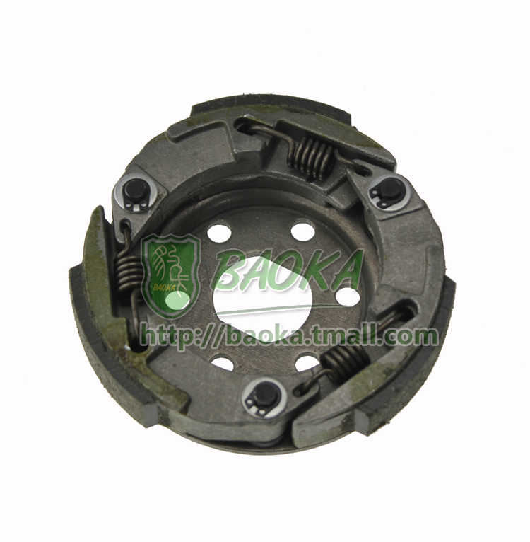 Motorcycle moped heroic gy648cc 50 80 belt pulley driven disc clutch throw blocks