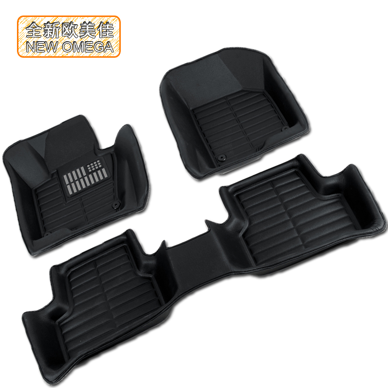 3d stereo waterproof car mats wholly surrounded by 2013 new volkswagen touran tiguan dedicated wholly surrounded by large mats