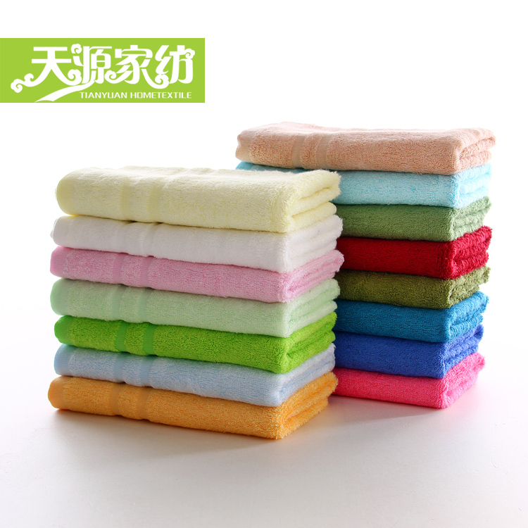 Tianyuan bamboo fiber towel big soft absorbent towel washcloth three [free combination shipping] special