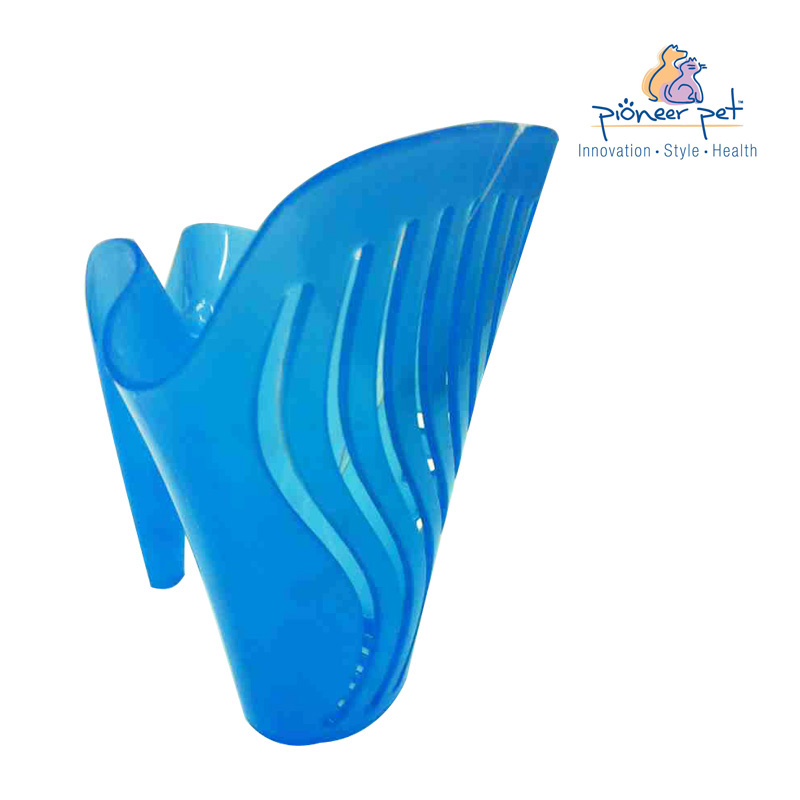 Pioneer pet alligator in more than 50% high intensity blue plastic shovel shovel shovel cat litter shovel