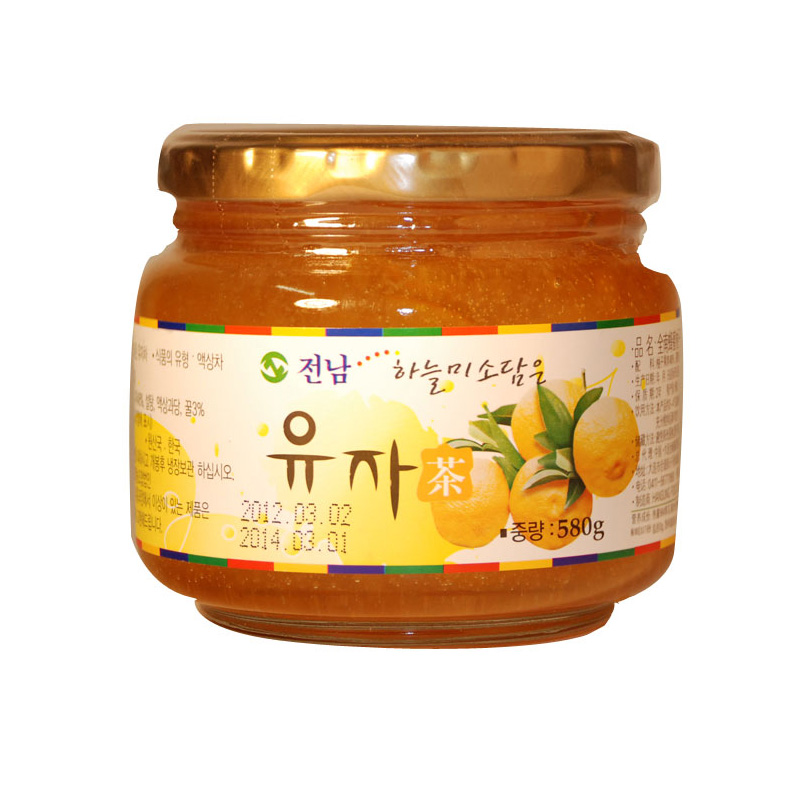 [Supermarket] lynx imported from korea chonnam honey lemon citron tea brew (mixed flavor) 580g /Tank