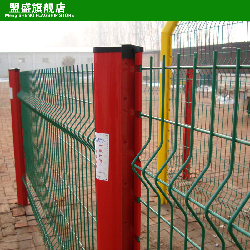 League sheng factory residential fence of barbed wire fence netherlands mesh fence upscale fence peach column fence