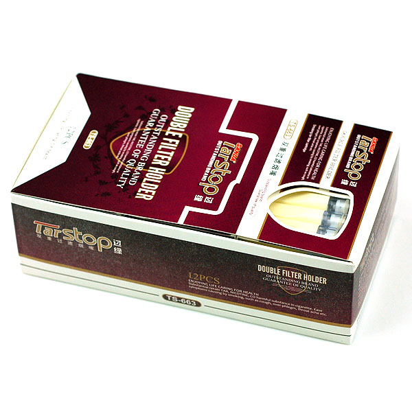 Hardcover genuine sanda/three of the double filter cigarette holder ts-663 cotton filter + microula sikkimensis 96 loaded