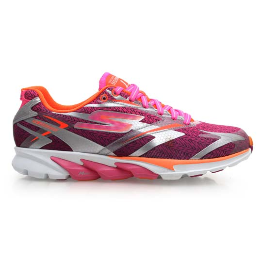 eb8208b25a00 Get Quotations · 4 women running shoes skechers go run-road running insoles  attached bright purple â™