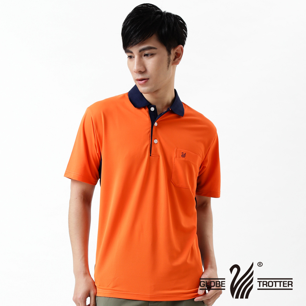 [Tour all over the world] mit s0 polo shirts men's casual anti uv wicking function 75