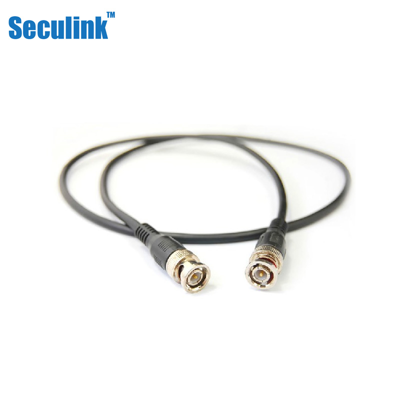 Seculink 1 m bnc product line monitor surveillance equipment dedicated bnc cable 1 m bnc cable