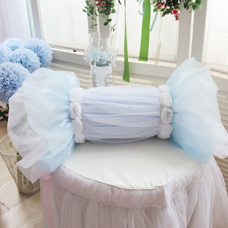 Beautydream new korean princess lace wedding candy pillow square pillow cushion/small pillow