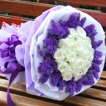 China white new rock china white new rock shopping guide at alibaba get quotations 19 white roses flower delivery nationwide flower delivery quanzhou fuzhou and xiamen zahngzhou dragon rock florist mightylinksfo