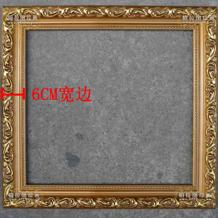 European wood frame custom painting frame decorative frame wedding photo frame advertising box mirror box 24 inch 36 inch