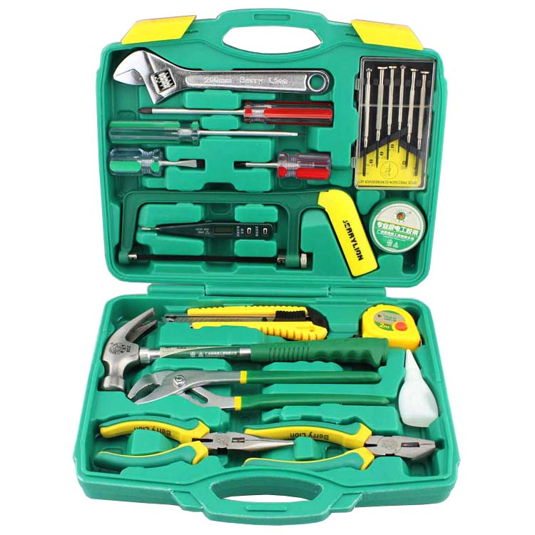 22 sets of household tool set hardware tools home repair tool kit tool kit combination package