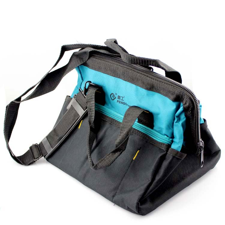 Shoulder bag backpack portable toolkit thick waterproof canvas tool bag electrical package multifunction repair kits