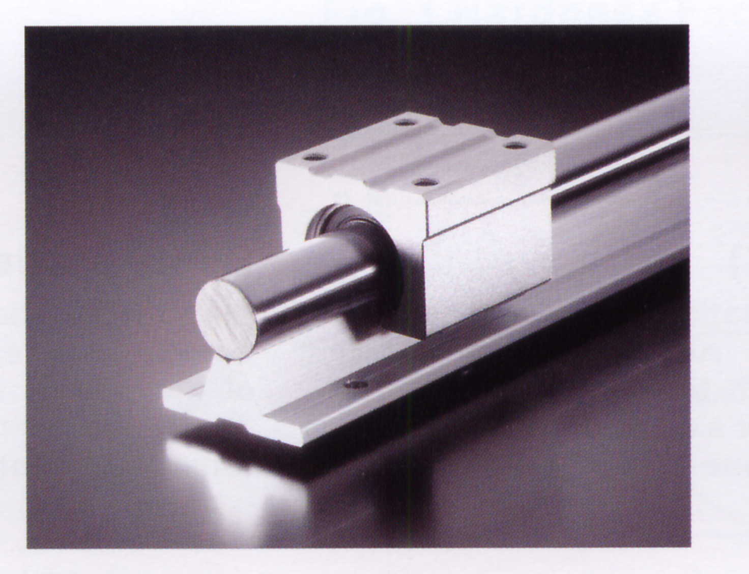 With supporting optical axis + aluminum prop sbr linear guide bearing steel hardened cylindrical guide rail bracket aluminum complete specifications