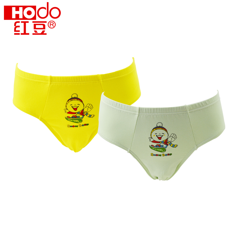 2 loaded red beans childrenwear briefs boy child underwear cotton underwear briefs zhongshan university tong xuesheng