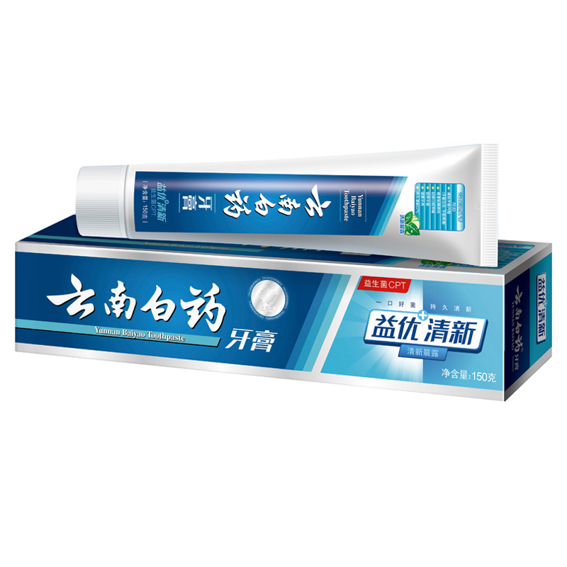 2 packer post] yunnan baiyao toothpaste oral health benefits of excellent fresh morning dew odor care 166193