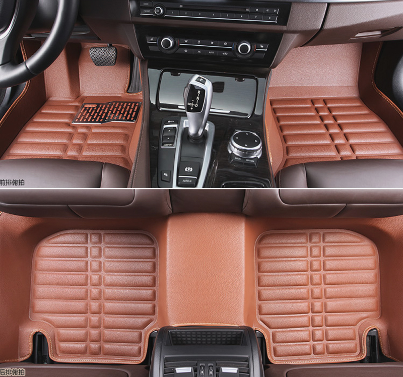 2010 models geely free cruiser dedicated surrounded by large mats full coverage mats wear resistant leather car interiors
