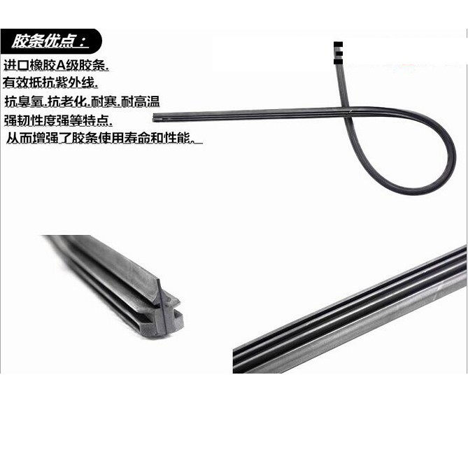 2014 models beijing hyundai rena dedicated car wiper bone wiper blades strip year warranty