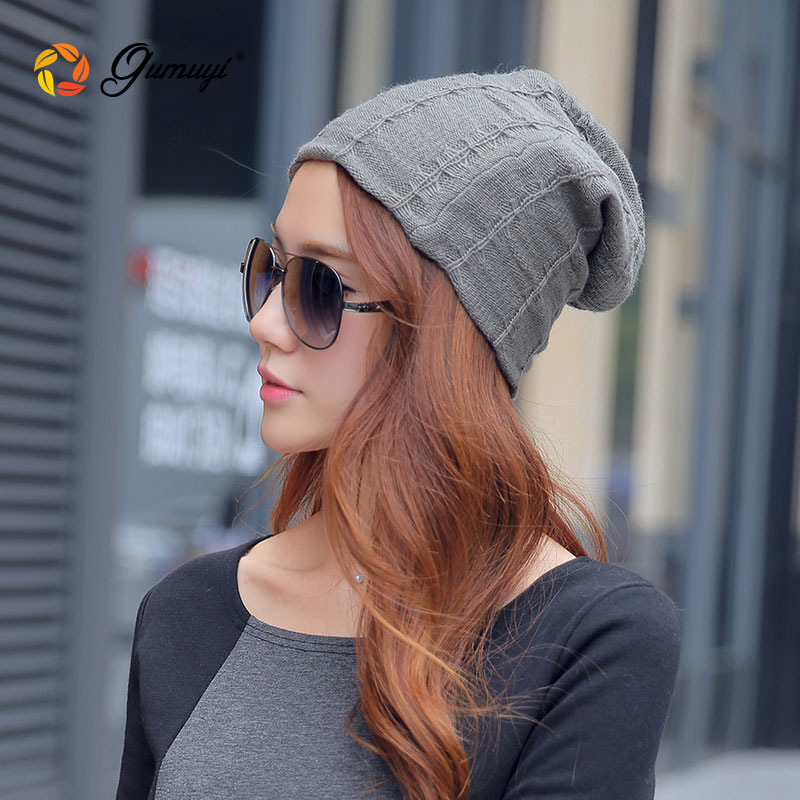 ce769de9de6 2015 autumn and winter korean street casual korean version of warm knitted wool  hat winter hat