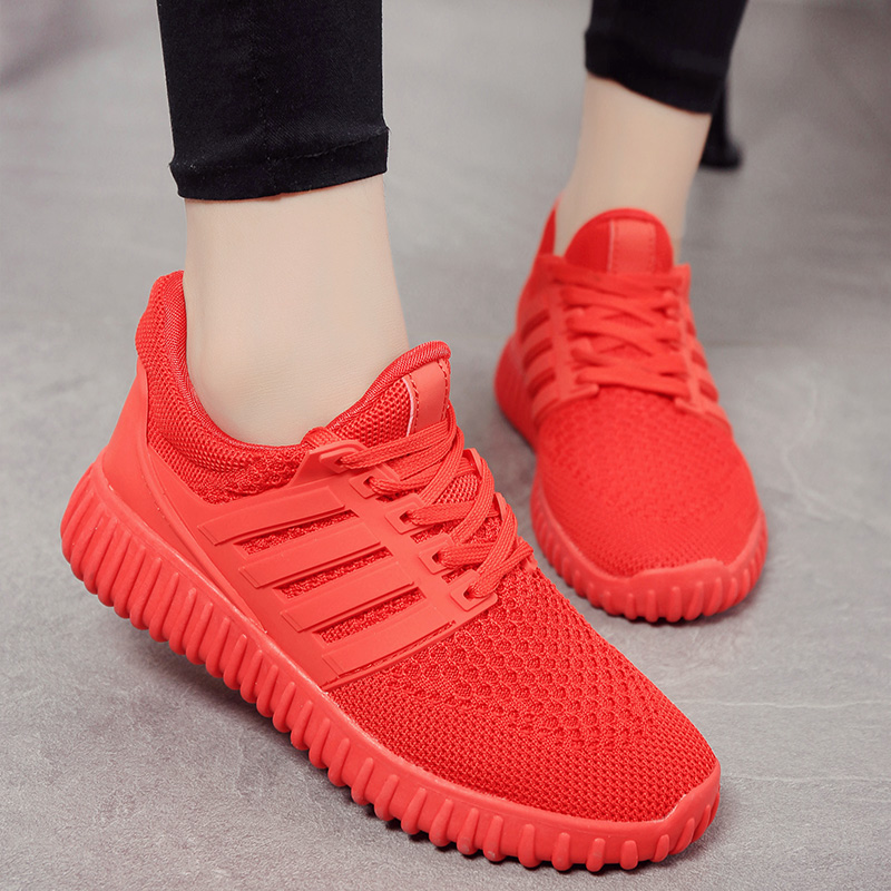2016 autumn paragraph reticularis shirtwaist of junior high school students in sports shoes children shoes big boy girl boy girl child in casual shoes