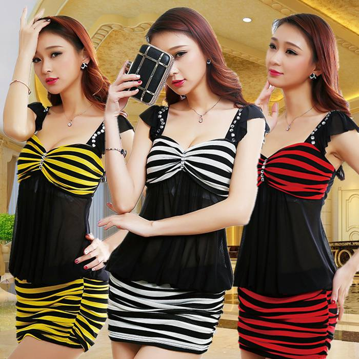2016 bar ds nightclub ktv miss sauna clothing dress cover belly beauty work dress nightclub women