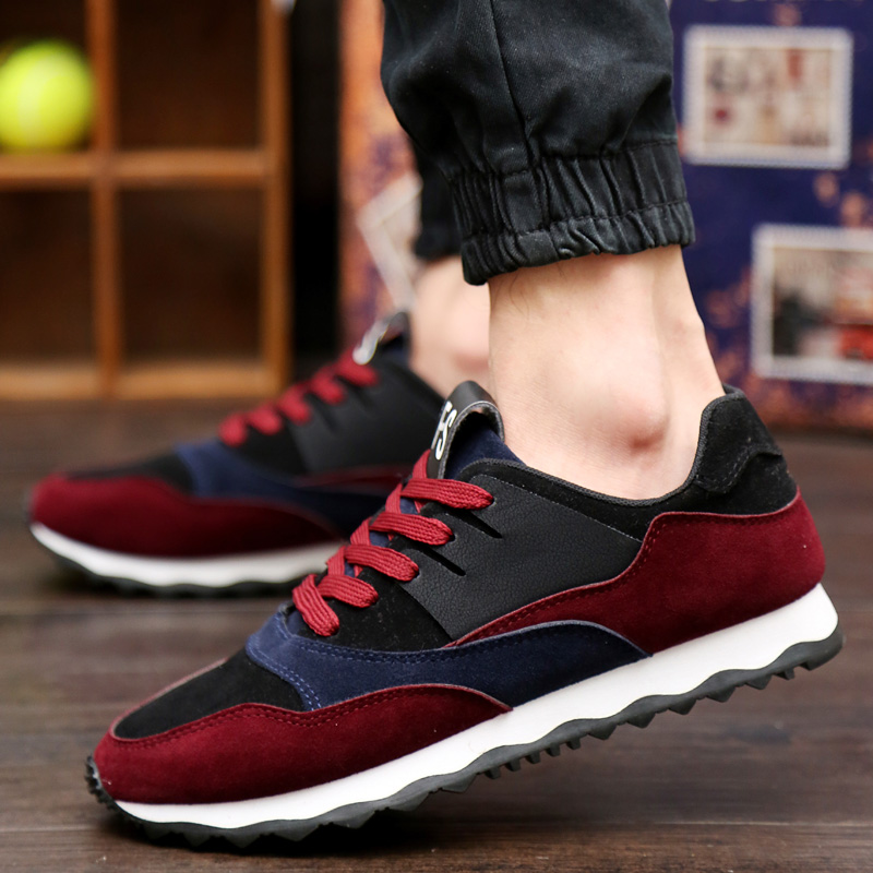 2016 fashion korean men's sports shoes running shoes student shoes men's sports shoes tide shoes
