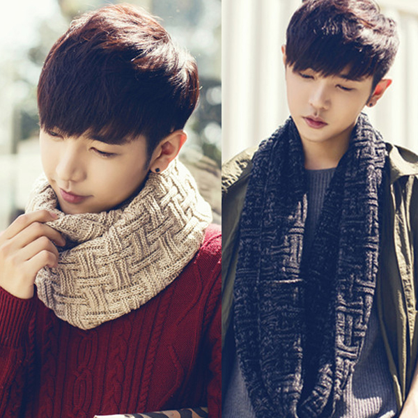 2016 new autumn and winter days neck hedging knitted wool scarf knitted scarf korean version of the influx of men and women couple 11-02